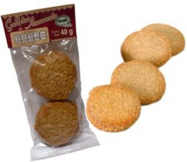 Galletas de amaranto Quali sabor natural 40 g